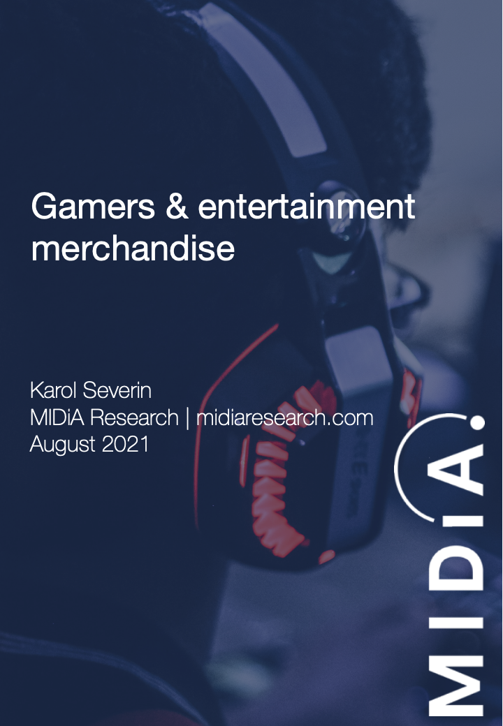 Cover image for Gamers & entertainment merchandise