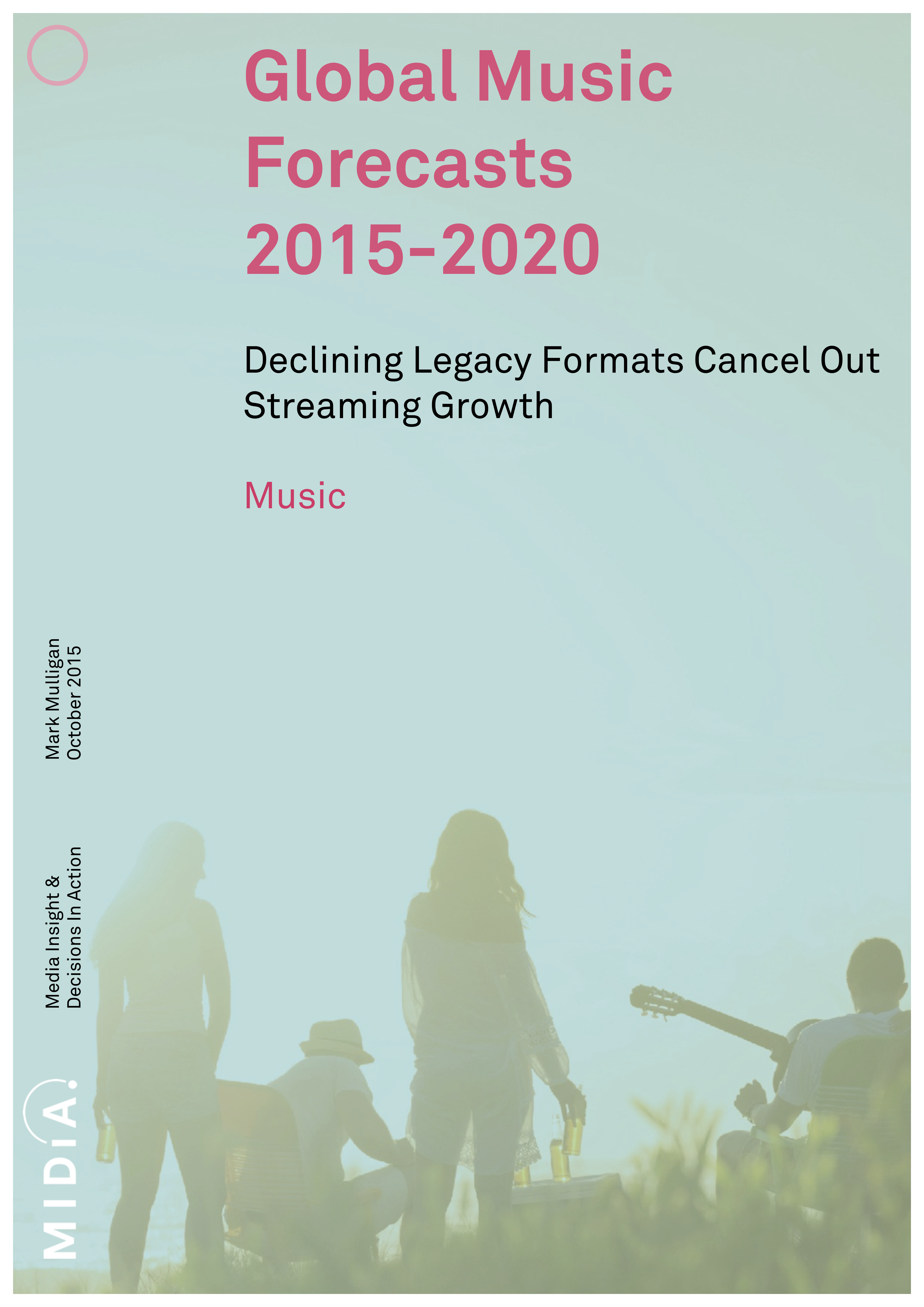 Cover image for Global Music Forecasts  2015-2020