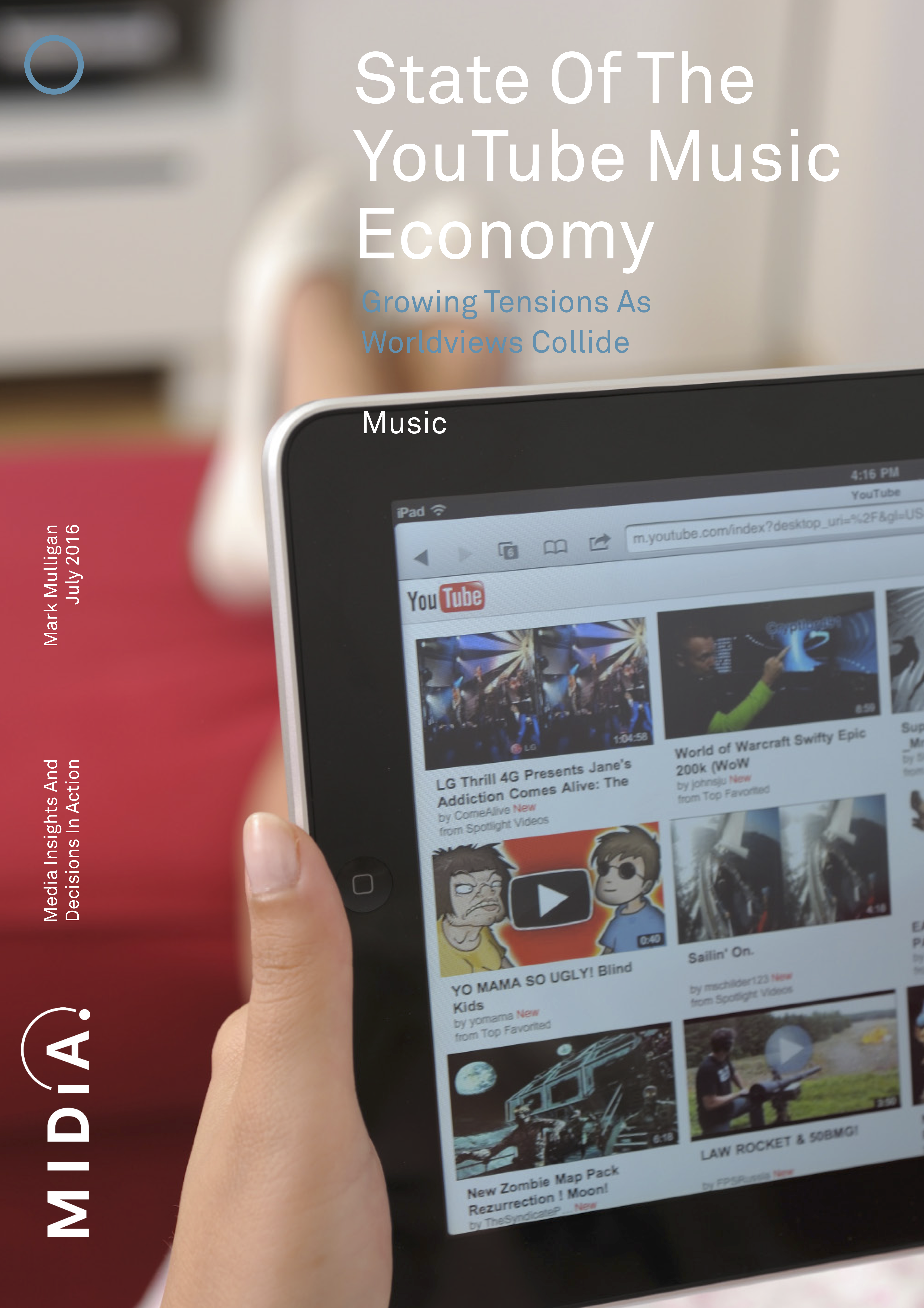 Cover image for State Of The YouTube Music Economy