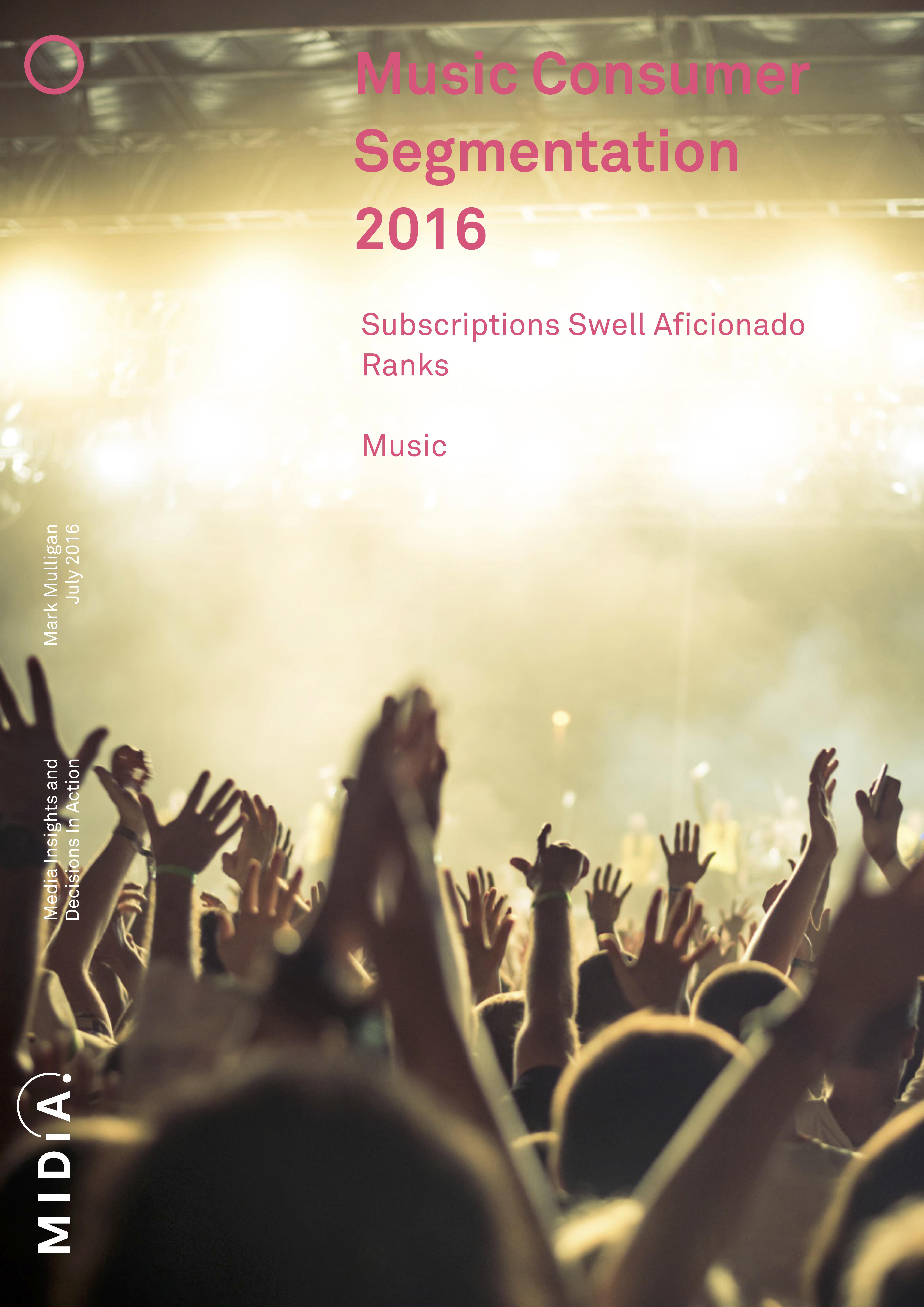 Cover image for Music Consumer Segmentation 2016